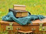 valigia e libro