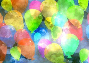 palloncini diversi