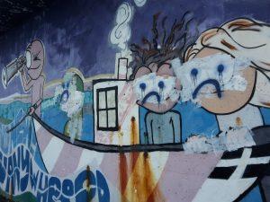 Newlyn - graffito