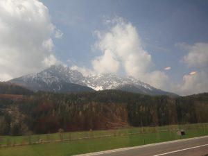 Dolomiti viste dal Treno Austria Italia