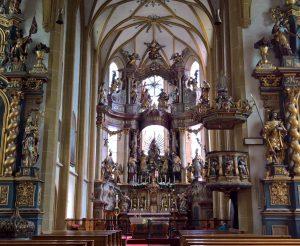 Bad Hof Gastein interno chiesa Nostra Signora