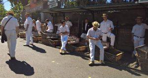 carros de cestos Monte Funchal