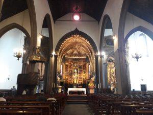 Cattedrale Sè Funchal interno