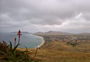 Porto Santo vista dall alto