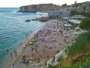 Dubrovnk spiaggia Banje