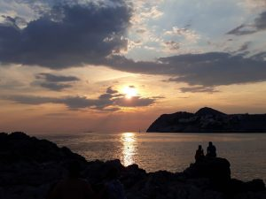 Dubrovnik - spiaggia Gradac Dance