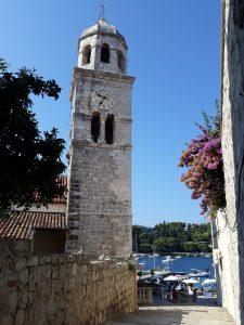 Cavtat - campanile chiesta San Nicola
