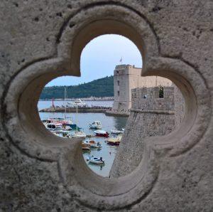 Dubrovnik - Porto vecchio visto da Porta Ploce