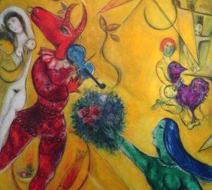 Marc Chagall - violinista