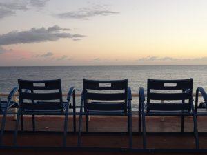 chaise bleue Nizza