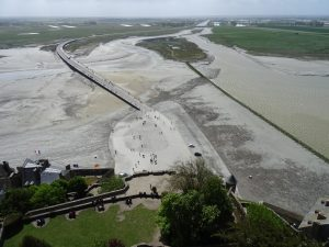 Mont Saint Michel panorama