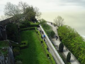 Mont Saint Michel giardini