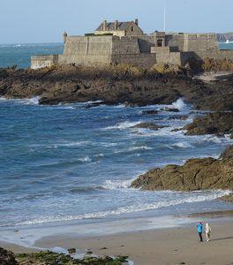 Saint Malo vista oceano