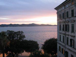 Zara- vista mare da Riva