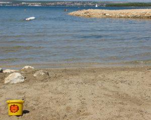 Tkon spiaggia Vruljica isola Pasman