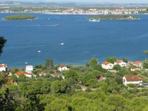 vista da cokovac isola di Pasman
