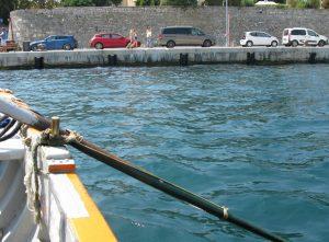scorciatoia in barca - Zadar