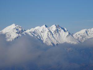 cime innevate dal Monte Pora
