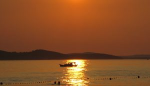 sunset in Zadar - tramonto a Zara