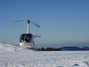 elicottero Monte Pora