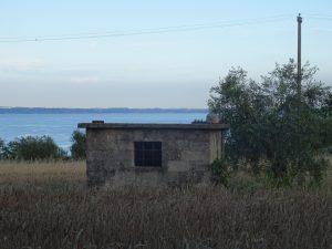 Manerba campagna vista lago