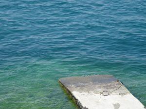 molo isola del Garda
