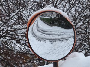 specchio neve