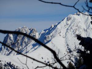 montagna e neve