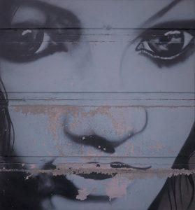 occhi graffito